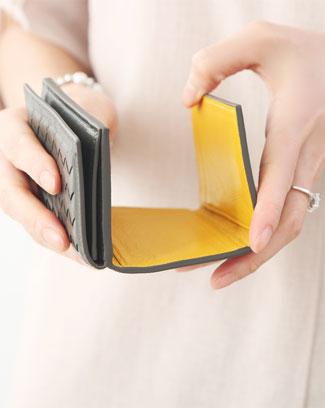 베네타 미니 3단 지갑 (5color)